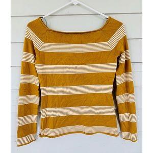 H&M Striped Boatneck Sweater